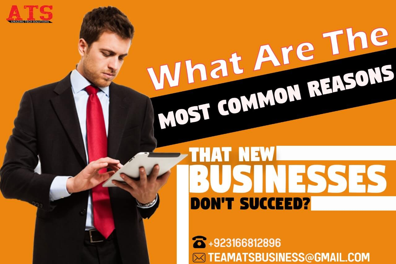 What Are The Most Common Reasons That New Businesses Don't Succeed?