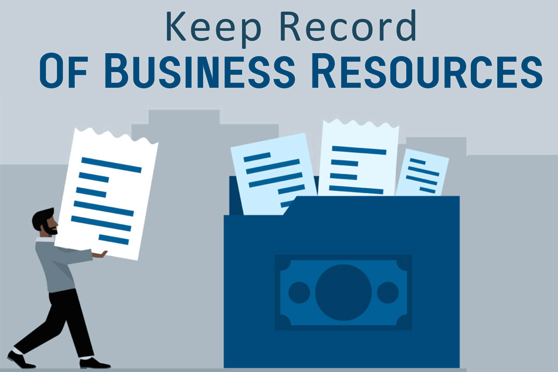 Keep Record Of Business Resources