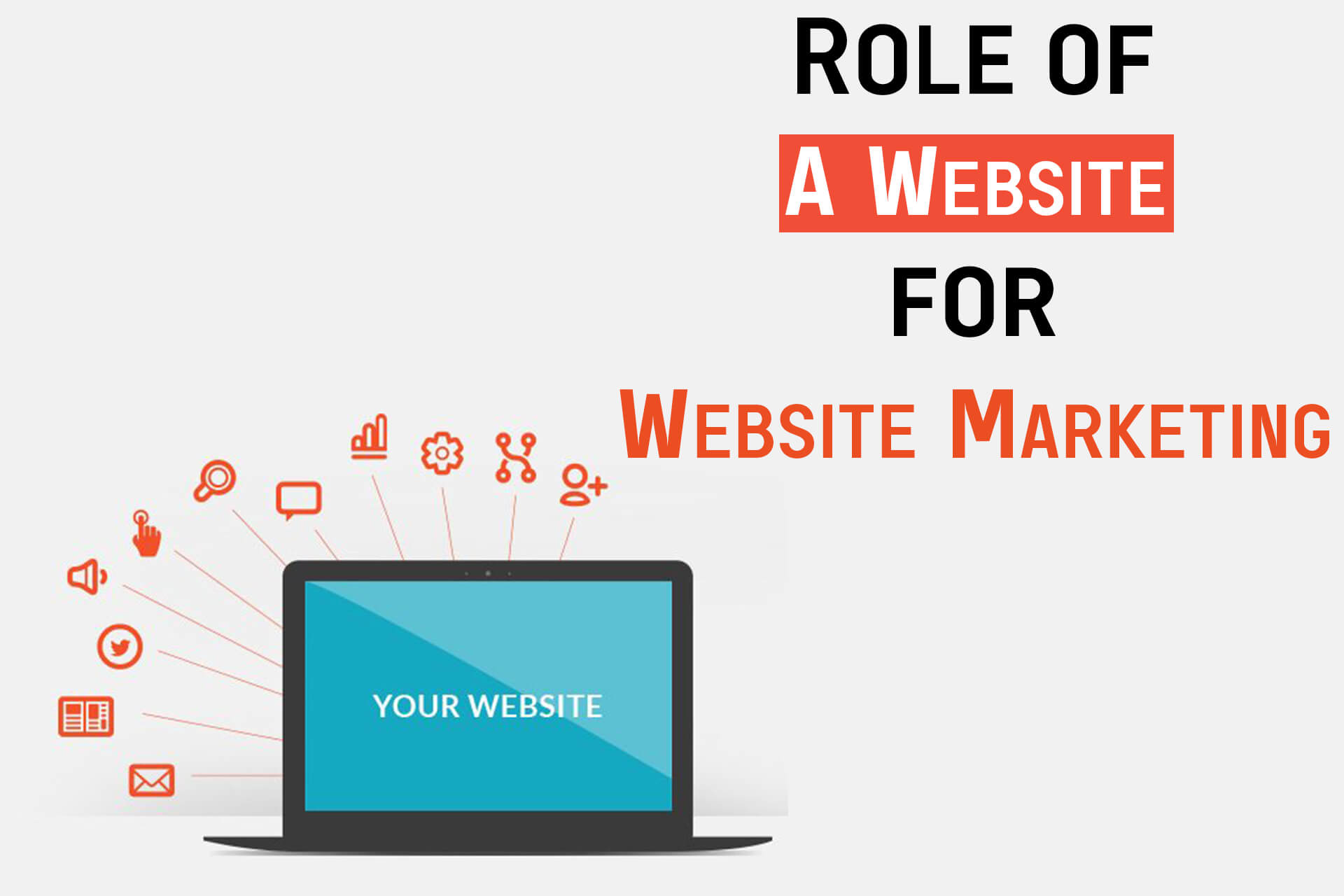 Role Of A Website For Website Marketing