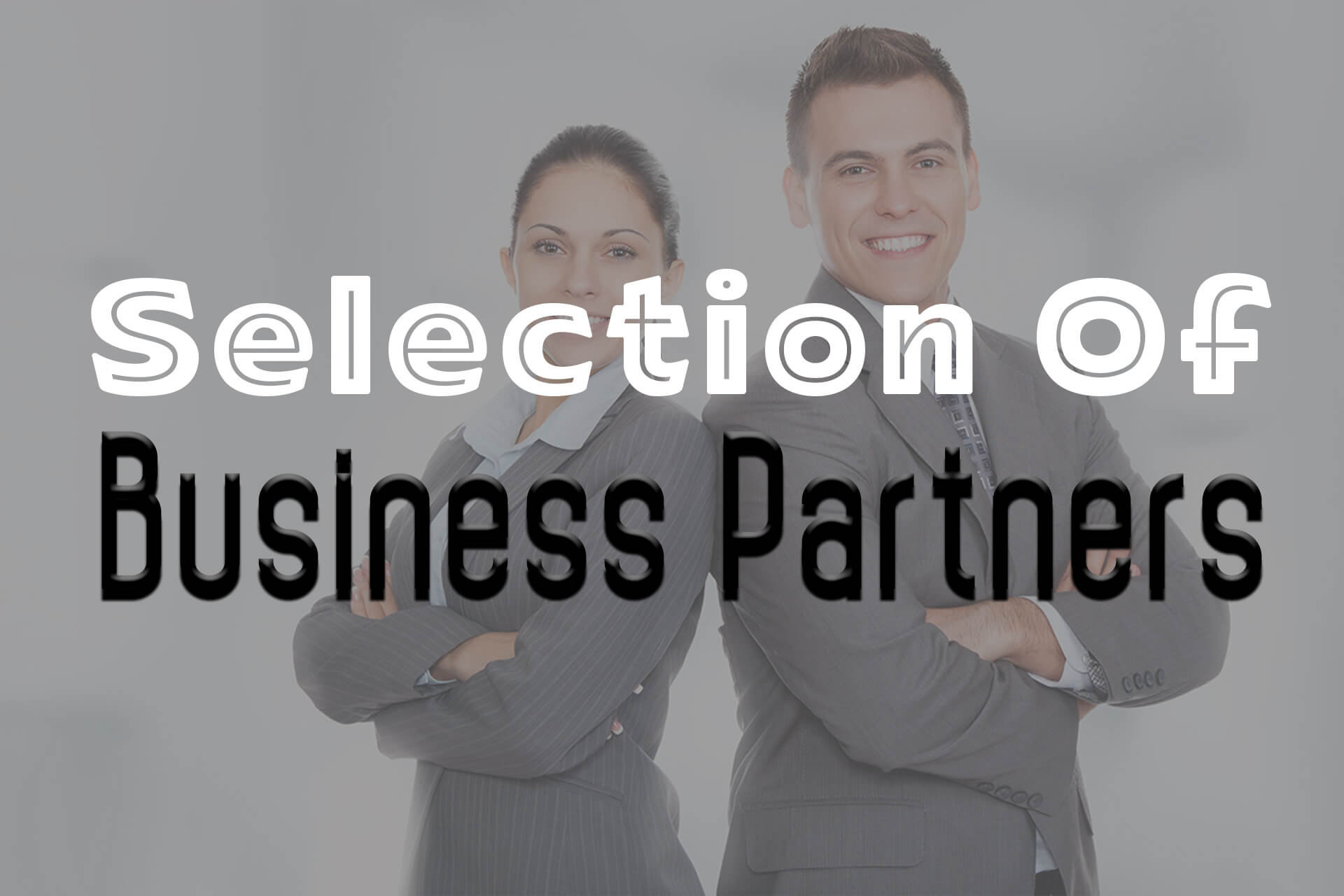 Selection Of Business Partners